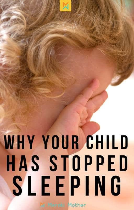 why your baby has stopped sleeping