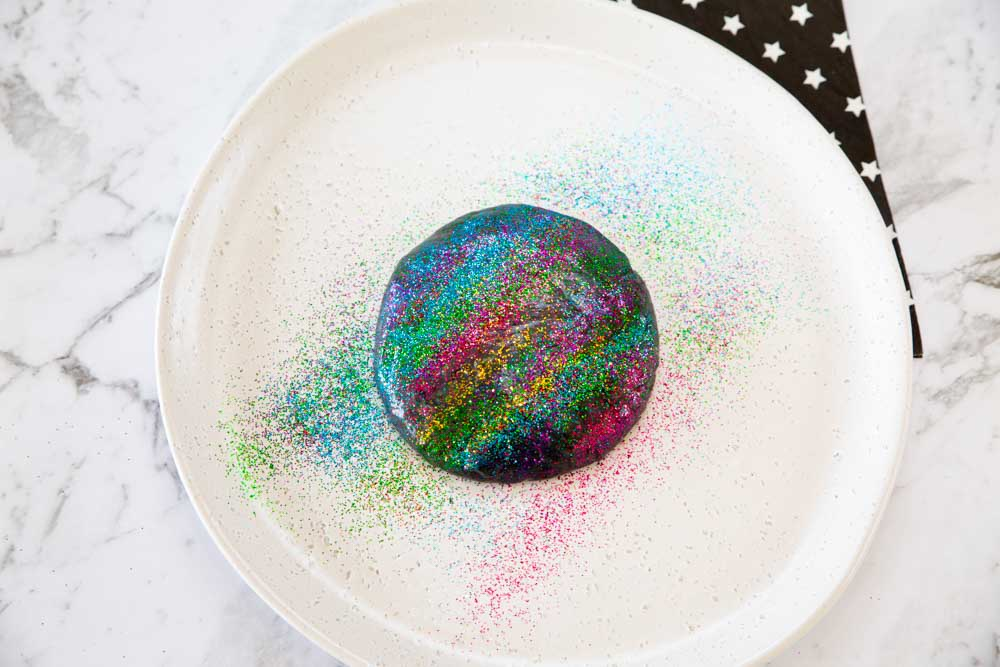 How to make Galaxy playdough