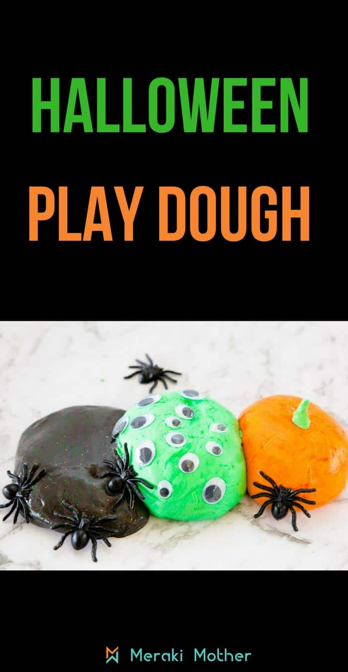 Play dough for Halloween