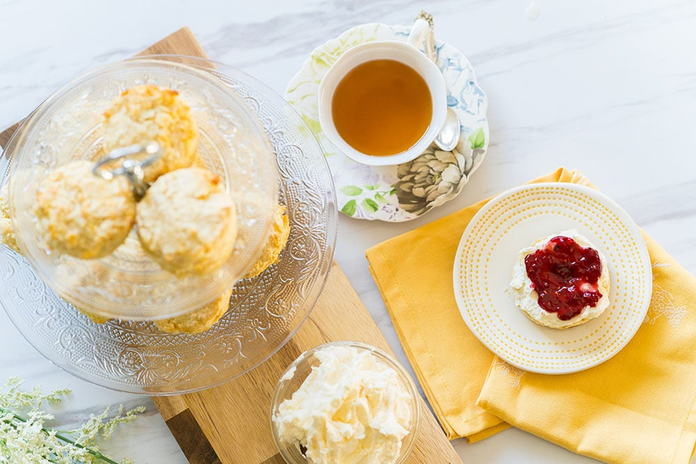British tea scones