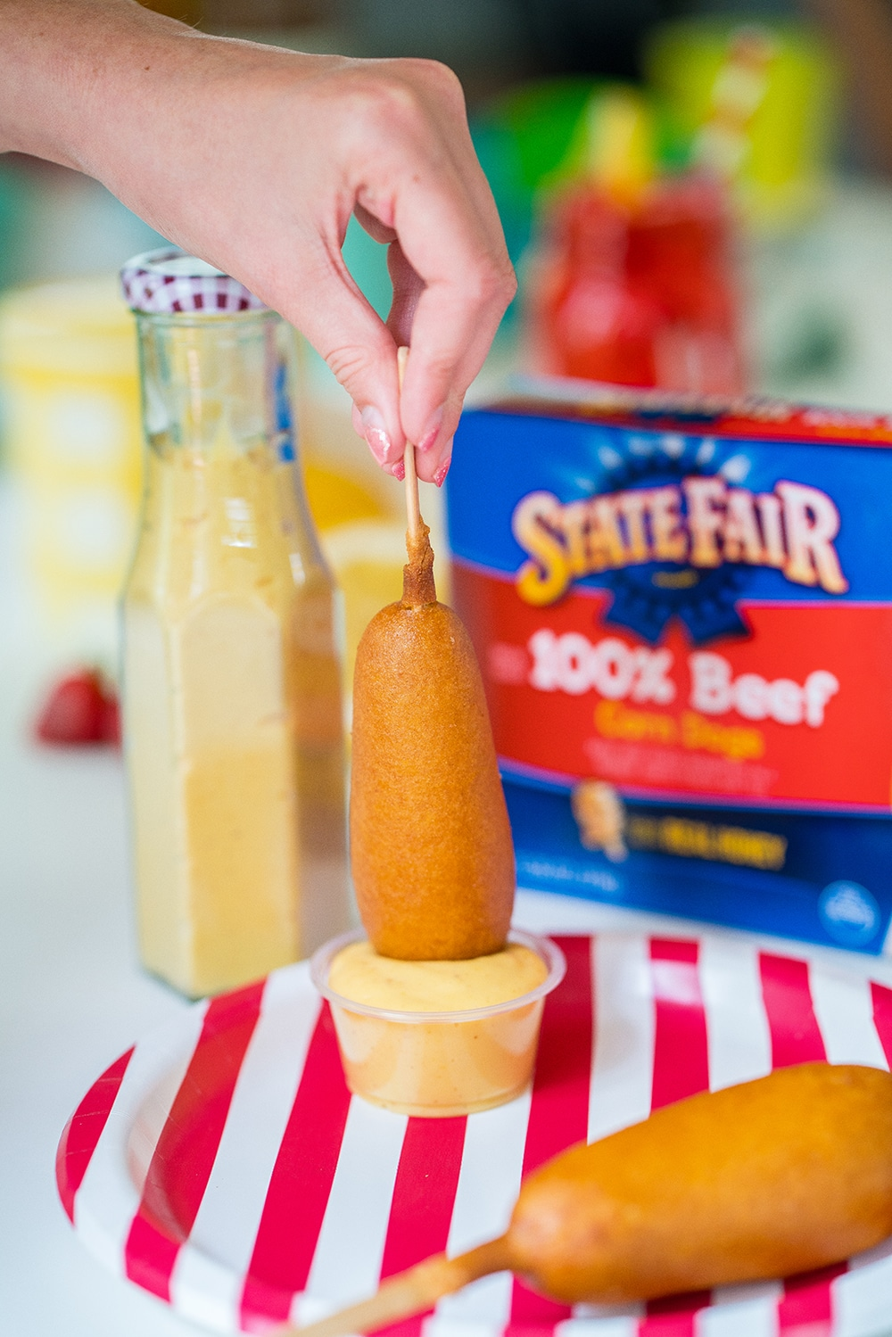 Easy Dinners with Tyson State Fair Corn Dogs