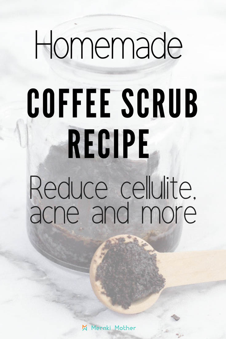 Homemade Coffee Scrub Recipe