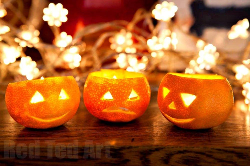 arts and crafts for halloween decorations