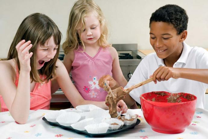 10 kids cooking birthday party games