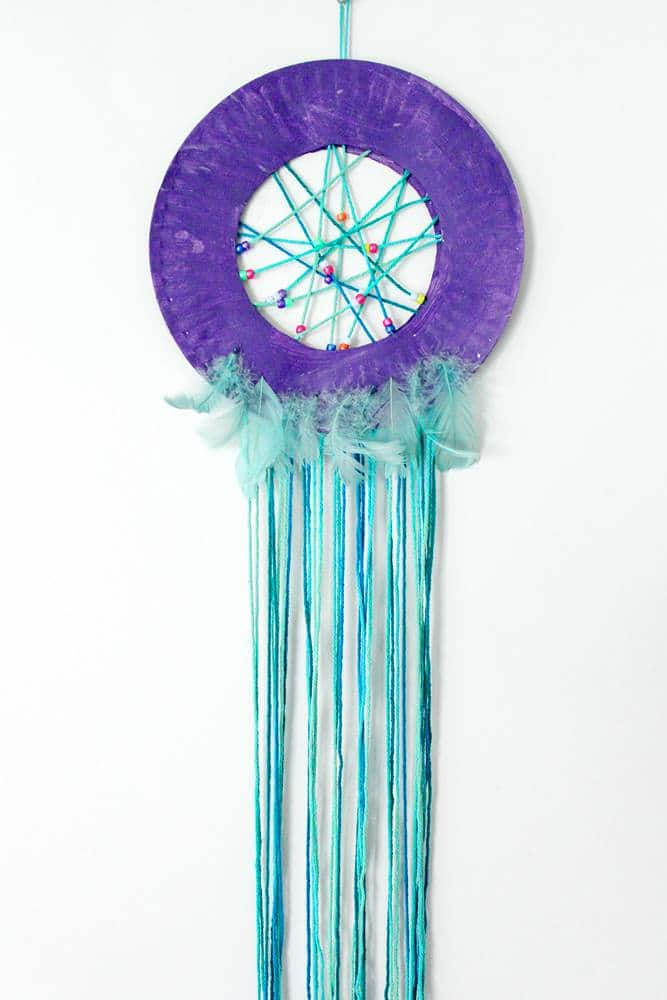 beaded dream catcher craft
