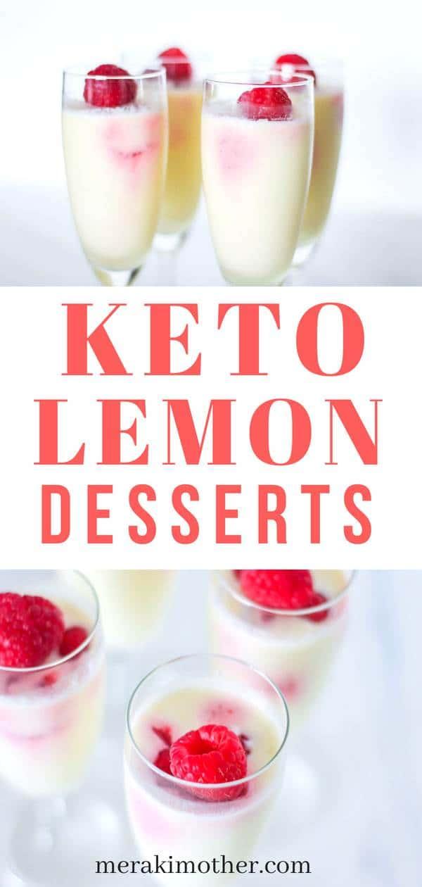 easy keto lemon dessert