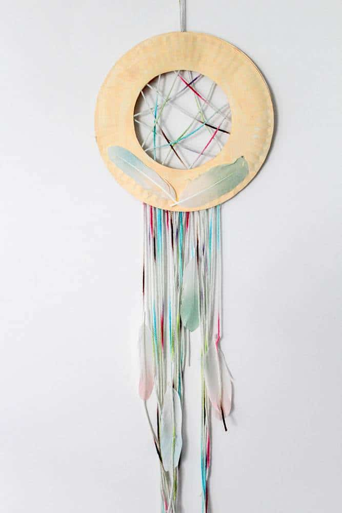 make your own children's dream catcher