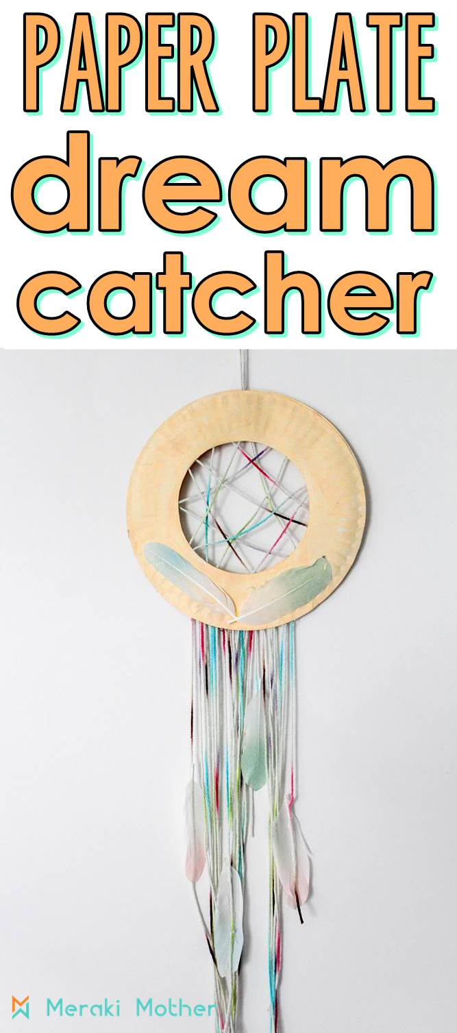 easy dream catcher craft for kids