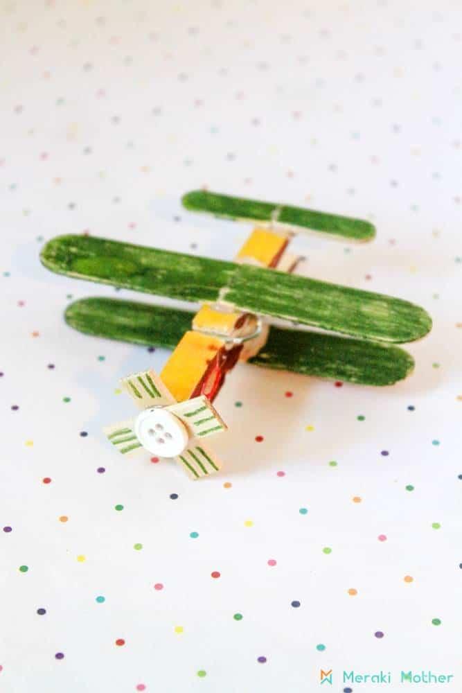 plane crafts for preschoolers