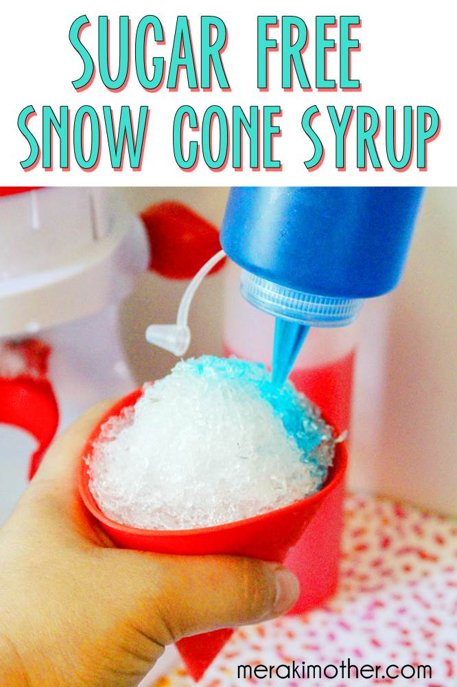 homemade sugar free snow cone syrup recipe