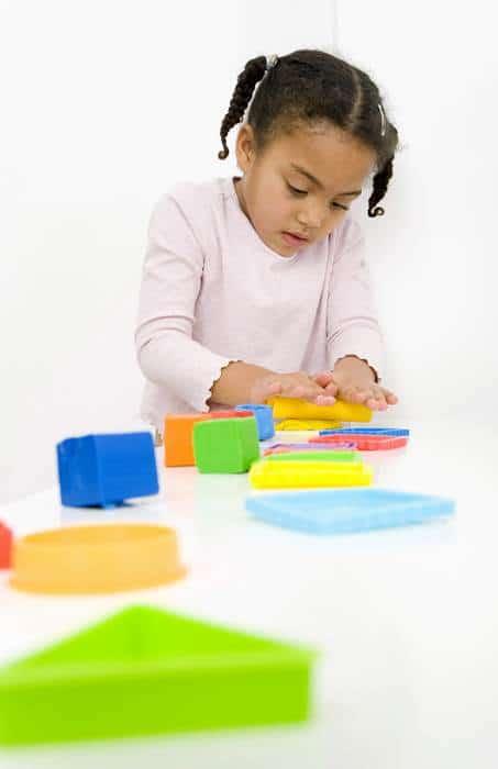 toddler and sensory play