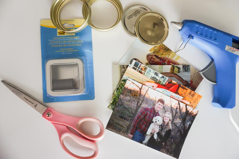 DIY Fridge photo frames