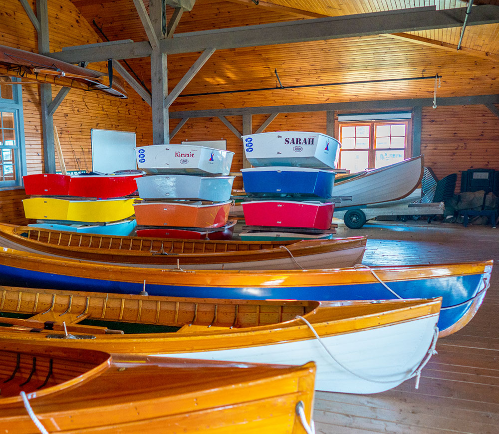 New York State with Kids Antique Boat Museum in Thousand Islands