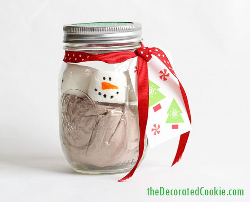 hot chocolate gift idea