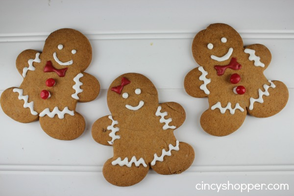 gingerbread man easy christmas cookies