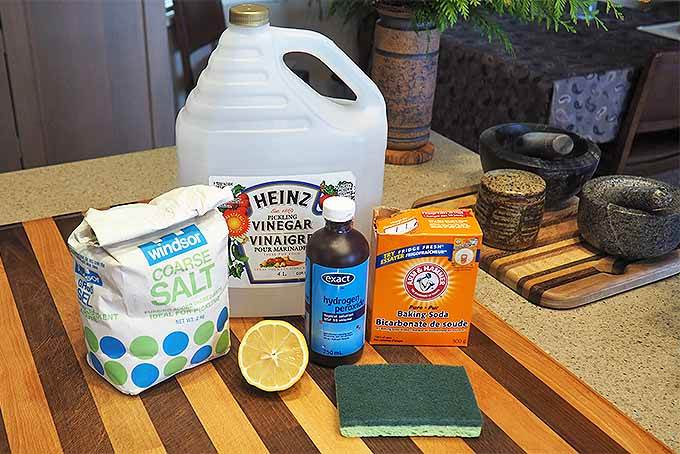natural cutting board cleaner