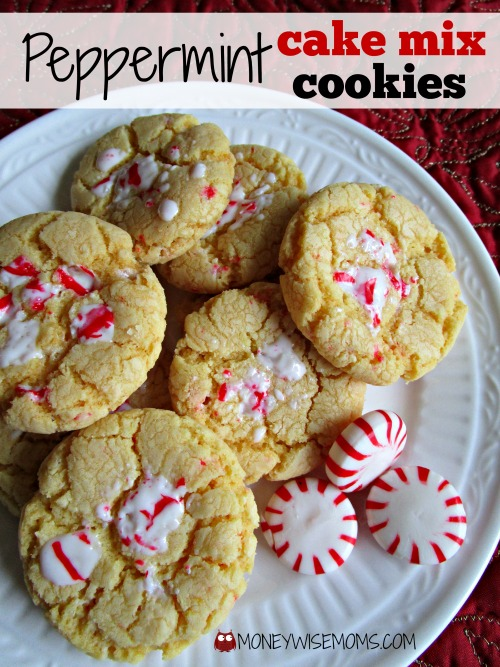 cake mix christmas cookies