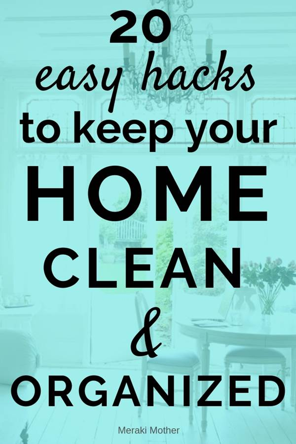 home cleaning tips, tricks and hacks