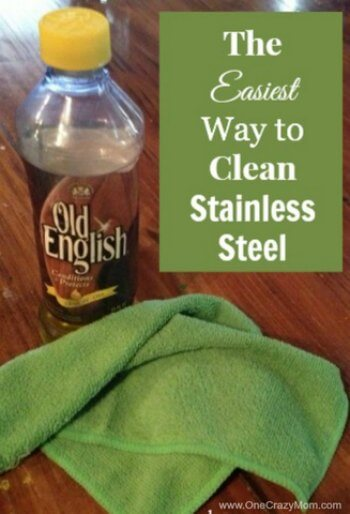 stainless steel fridge cleaning hacks