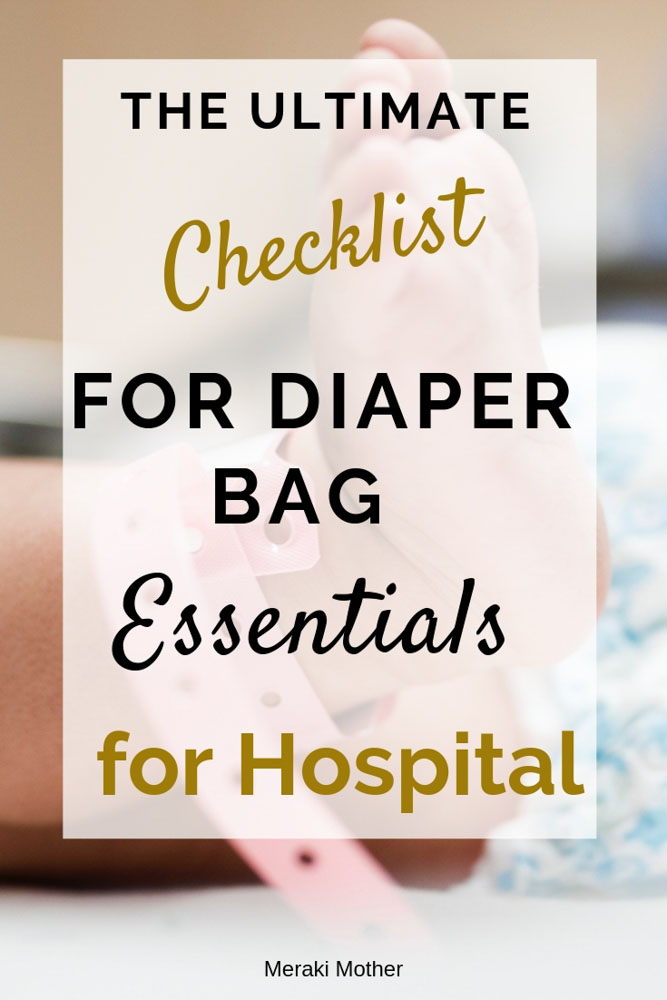 Get Your Free Hospital Bag Checklist for Labor. Find out all the hospital diaper bag essentials for newborns, moms and birthing partners.
