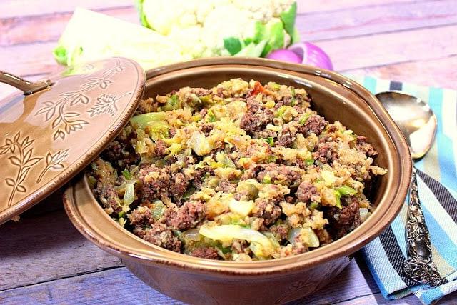 Low Carb Unstuffed Cabbage Casserole
