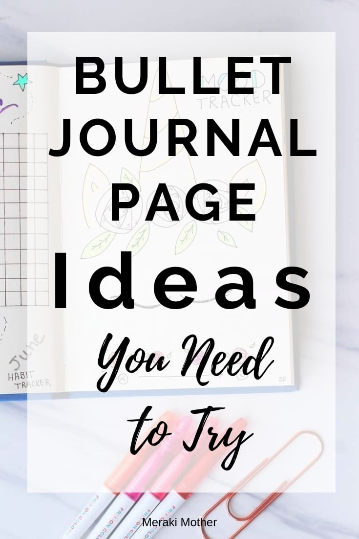 Bullet Journal Pages You need to have in Your Bujo. From Monthly Spreads to Habit Trackers, Find all the best Bullet Journal Page Ideas Inspiration. #bulletjournal #bulletjournalideas #bulletjournalpages #bulletjournallayouts