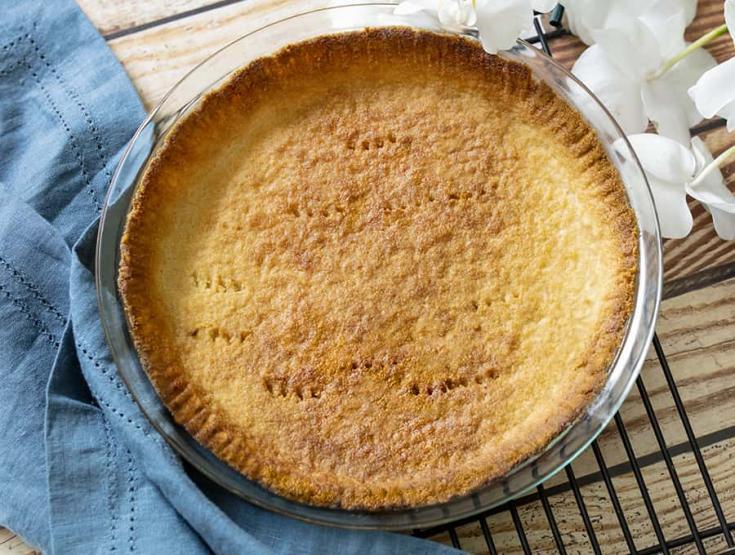 Keto Pie Crust | A Keto & Vegan Pie Crust Recipe