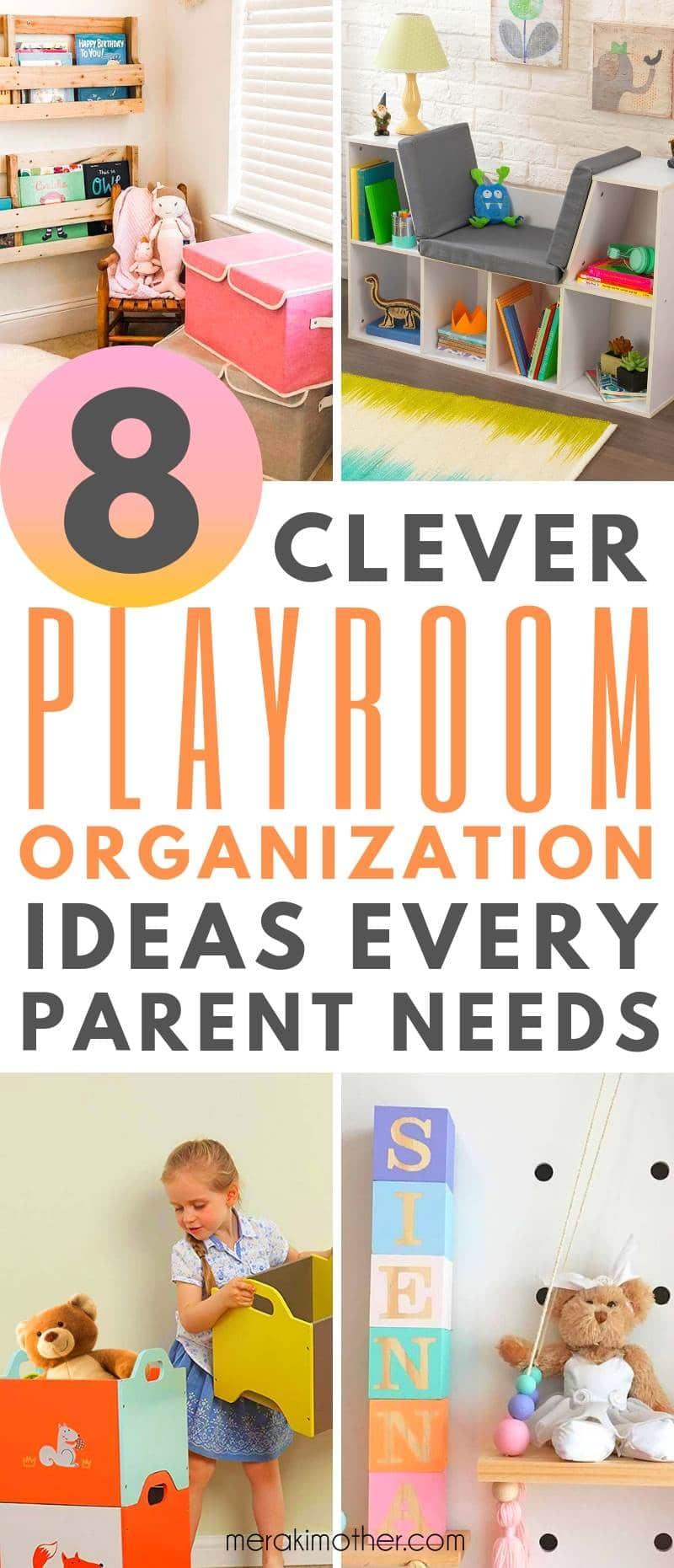 best playroom organization ideas