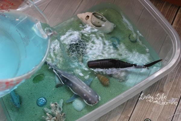 Ocean Sensory Bin Activity for Kids