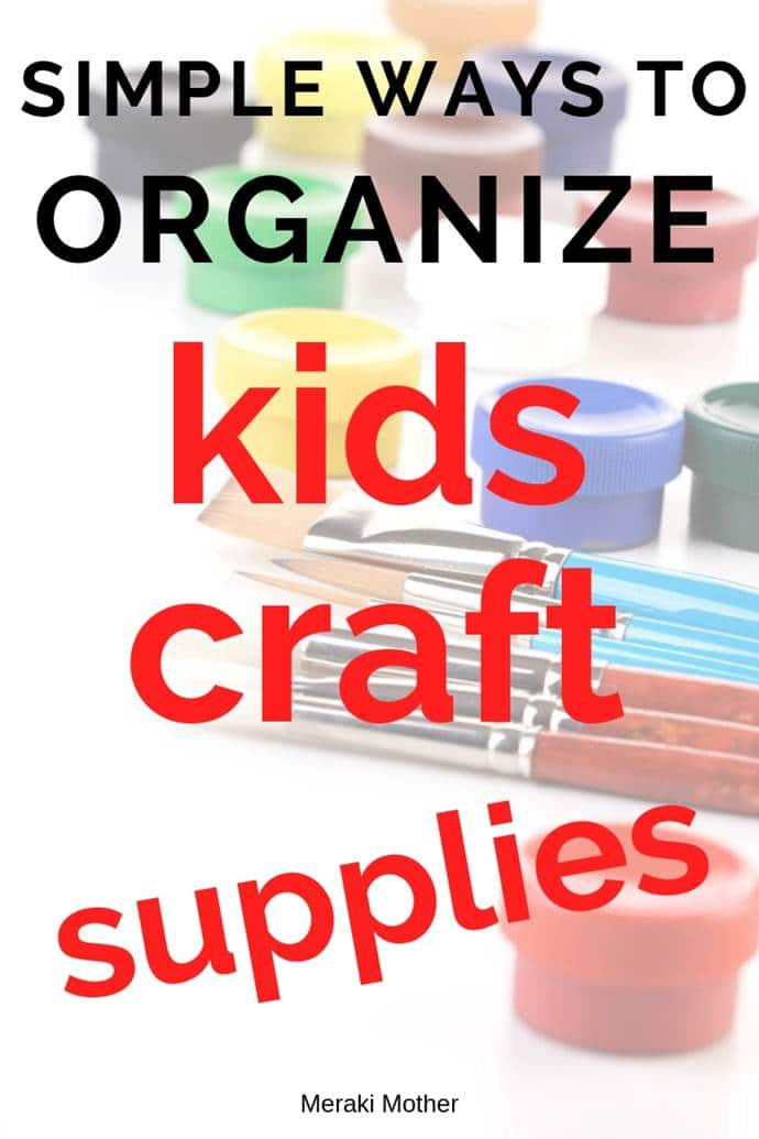 arts and crafts kids supplies organizations