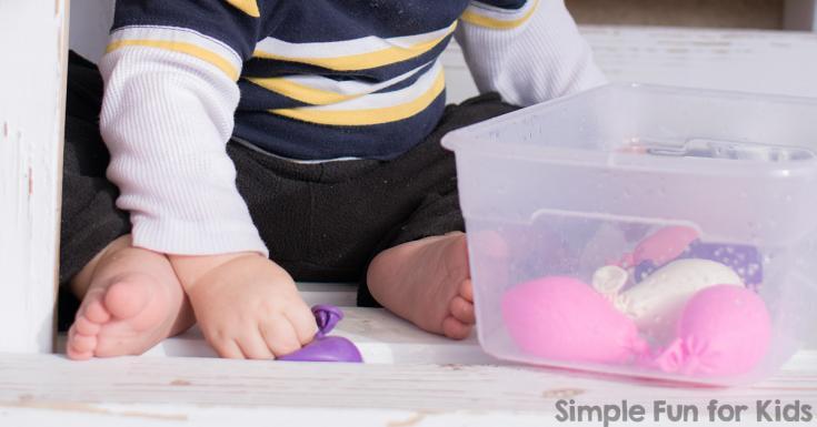 Water Balloon Sensory Play