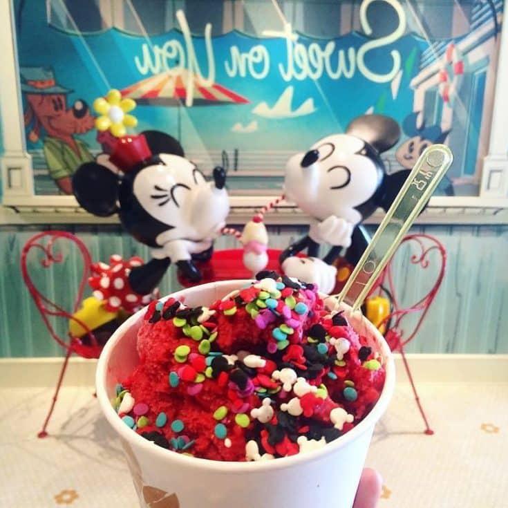 Disney Cruise Line Ice Cream