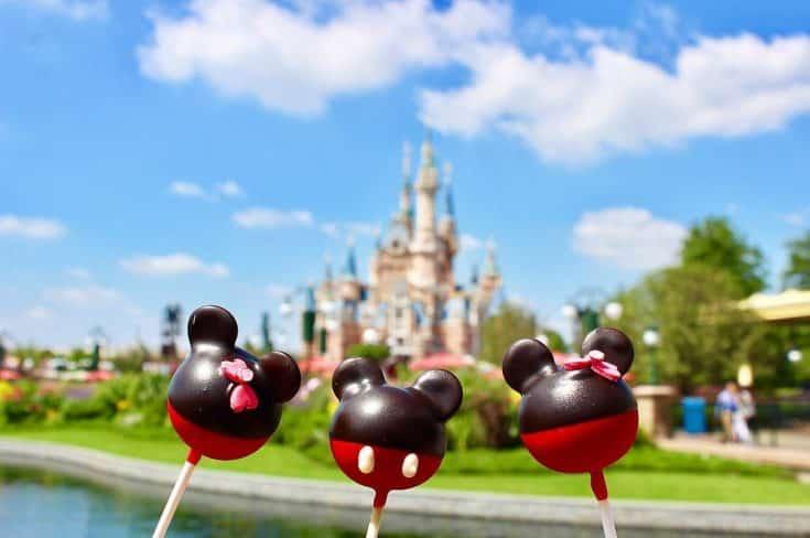 Disney Cake Pops