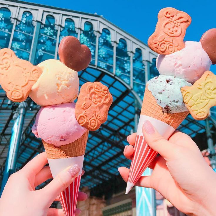Disney Ice Creams
