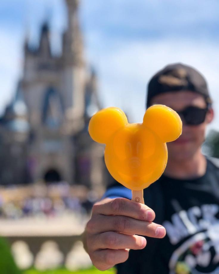 Mickey popsicle