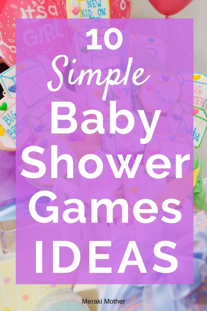 Find simple baby shower games that your guests will have fun playing. #pregnancy #babyshower #babyshowergames #babyshowerideas #babyshowergameideas #easybabyshowergames